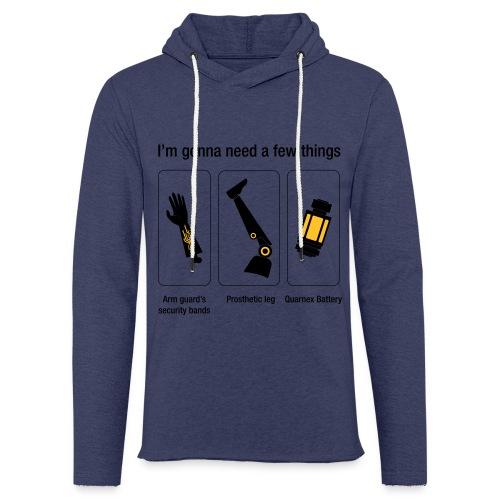 Rocket citation Few things gardiens - Sweat-shirt à capuche léger unisexe