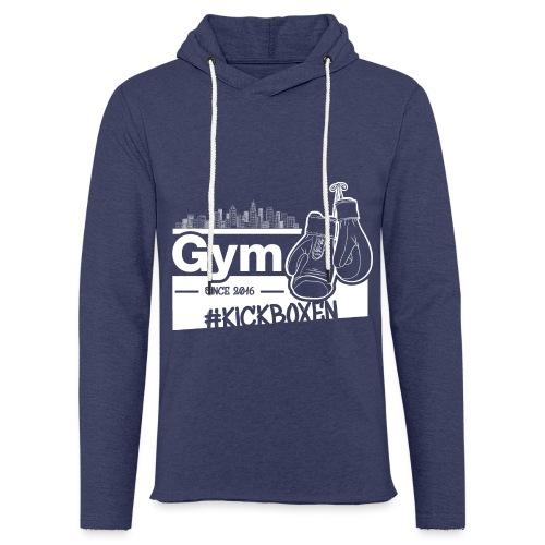 Gym Druckfarbe weiss - Leichtes Kapuzensweatshirt Unisex