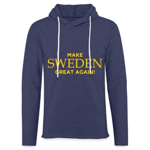 Make Sweden Great Again! - Lätt luvtröja unisex