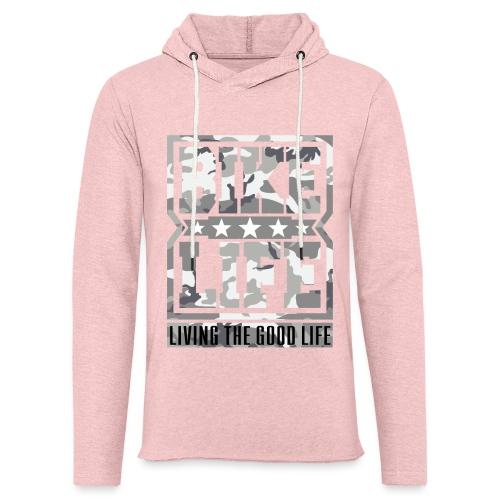 Bikelife White Camo - Light Unisex Sweatshirt Hoodie