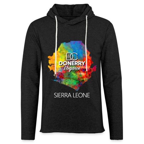 Sierra Leone Colourful Map Dark - Light Unisex Sweatshirt Hoodie