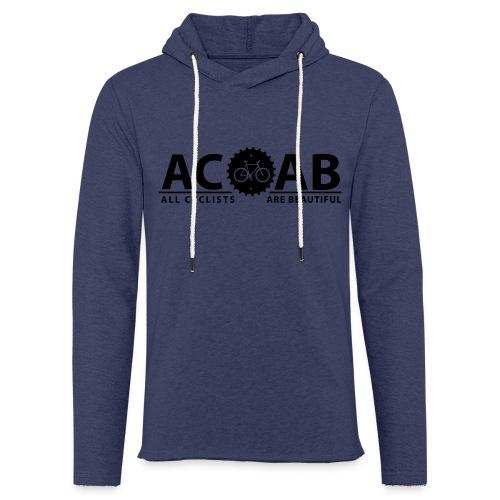 ACAB All Cyclists Are Beautiful T-Shirts - Leichtes Kapuzensweatshirt Unisex