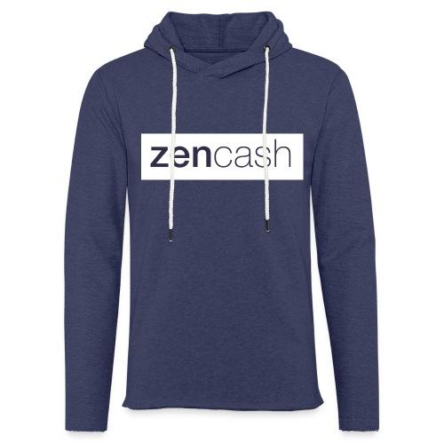 ZenCash CMYK_Horiz - Full - Light Unisex Sweatshirt Hoodie