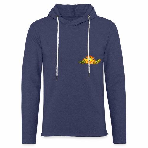 Boze Turtle Fluo - Lichte hoodie unisex