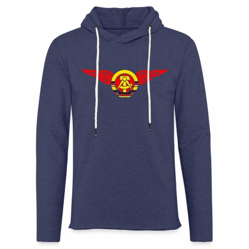 GDR flames crest 3c - Light Unisex Sweatshirt Hoodie