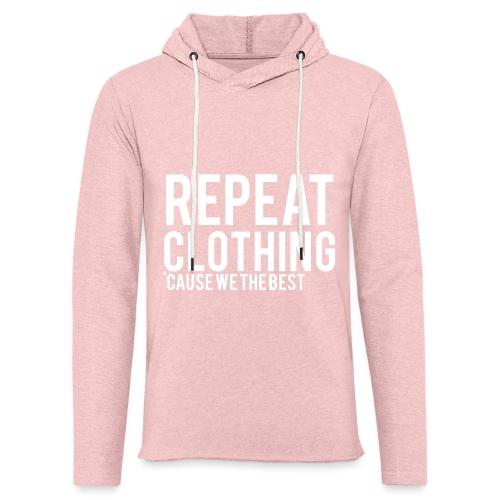 Repeat Clothing - Light Unisex Sweatshirt Hoodie