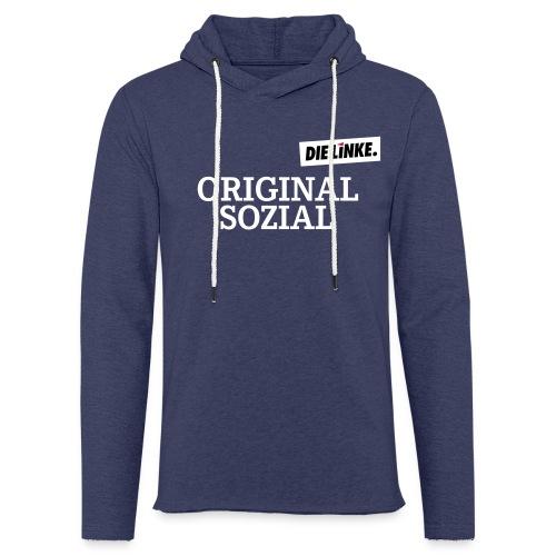 Schriftzug_original - Leichtes Kapuzensweatshirt Unisex