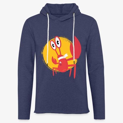 lobster - Sweat-shirt à capuche léger unisexe