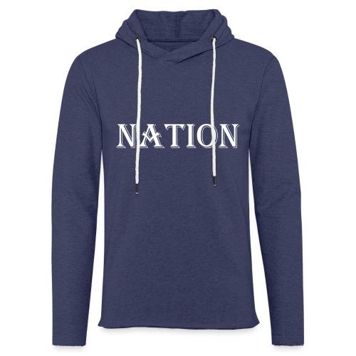 Nation - Lichte hoodie unisex