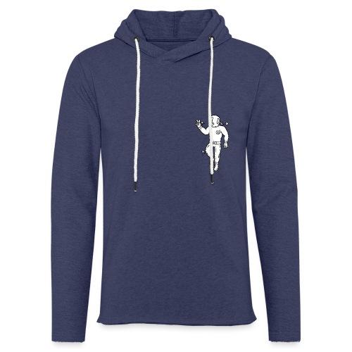 Dykker - Let sweatshirt med hætte, unisex
