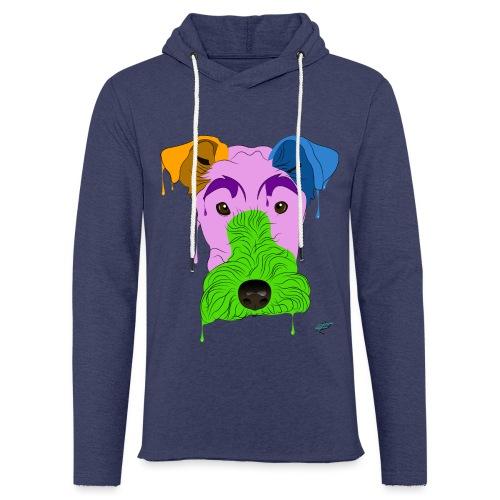Fox Terrier - Felpa con cappuccio leggera unisex