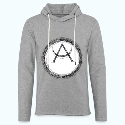 Mystic motif with sun and circle geometric - Light Unisex Sweatshirt Hoodie