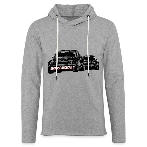 Racecar - Sweat-shirt à capuche léger unisexe