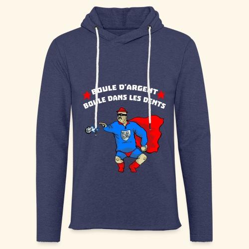 boule d' argent - Sweat-shirt à capuche léger unisexe