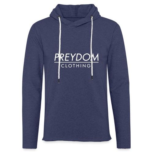 PREYDOM CLOTHING - Clean logo design - Let sweatshirt med hætte, unisex