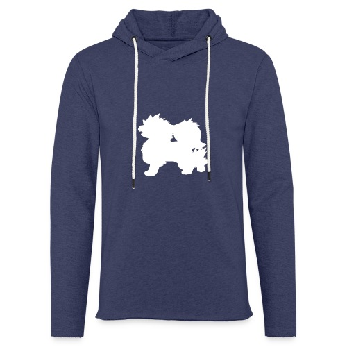 All white Arcanine Merch - Sweat-shirt à capuche léger unisexe
