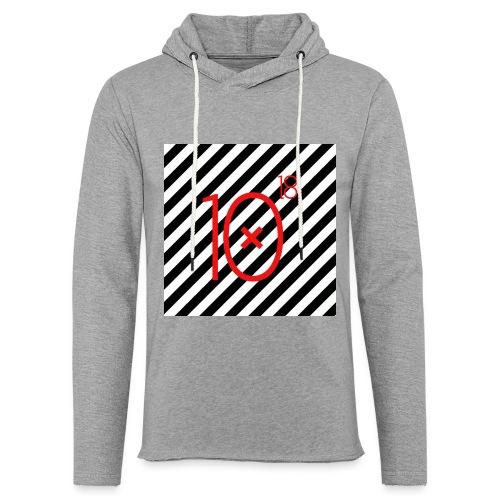 Stripes Hoodie - Lekka bluza z kapturem