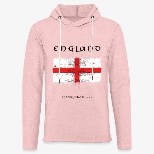 Union Jack England - Leichtes Kapuzensweatshirt Unisex