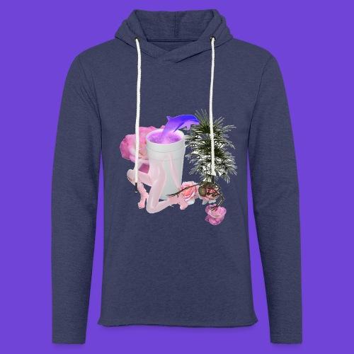 Purple Drank - Felpa con cappuccio leggera unisex