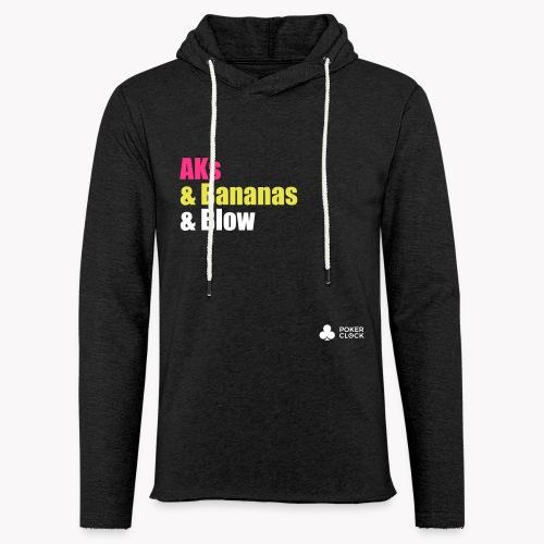 AKs & Bananas & Blow - Leichtes Kapuzensweatshirt Unisex