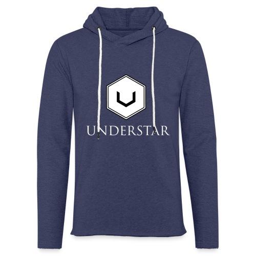 UNDERSTAR - Sweat-shirt à capuche léger unisexe
