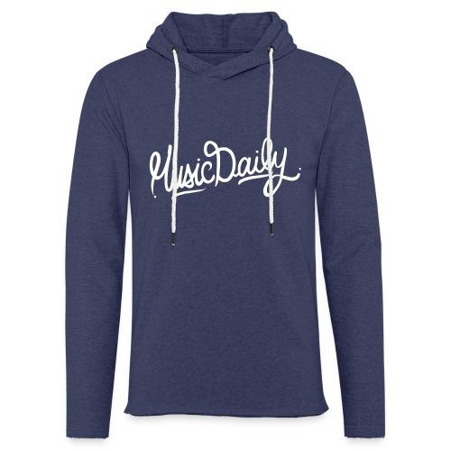 MusicDaily Logo - Lichte hoodie unisex