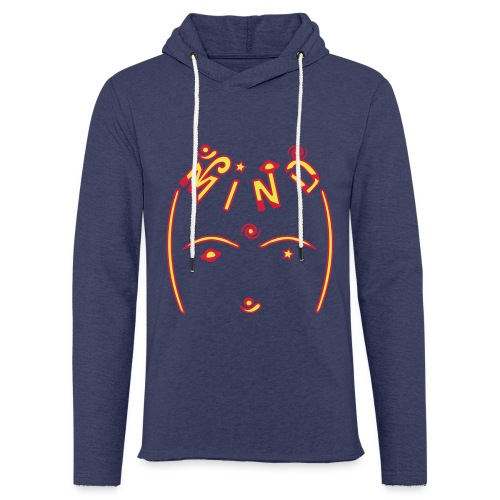 Universel bevidsthed - Let sweatshirt med hætte, unisex