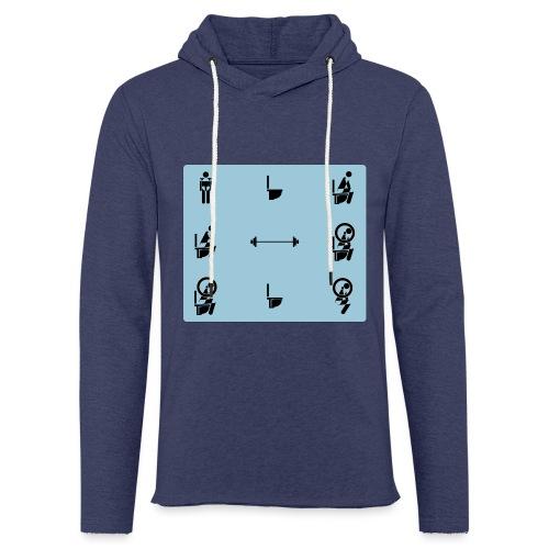 How to squat - Light Unisex Sweatshirt Hoodie