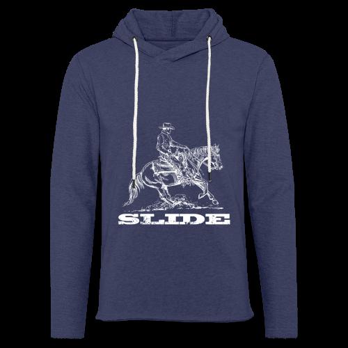 Sliding Stop Westernreiter Reining - Leichtes Kapuzensweatshirt Unisex