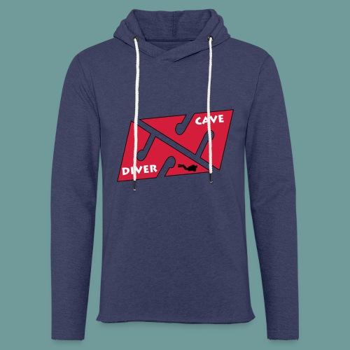 cave_diver_01 - Sweat-shirt à capuche léger unisexe