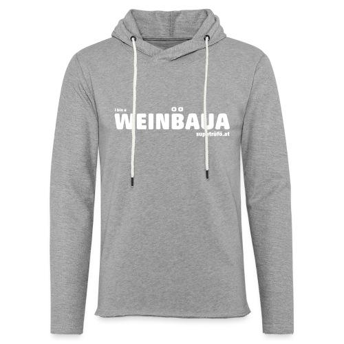 WEINBAUA - Leichtes Kapuzensweatshirt Unisex