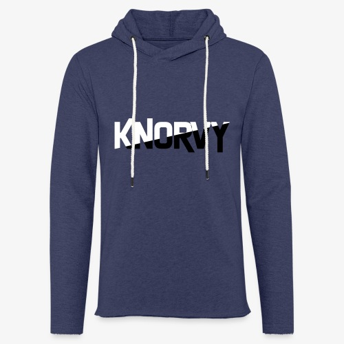 KNORVY - Lichte hoodie unisex