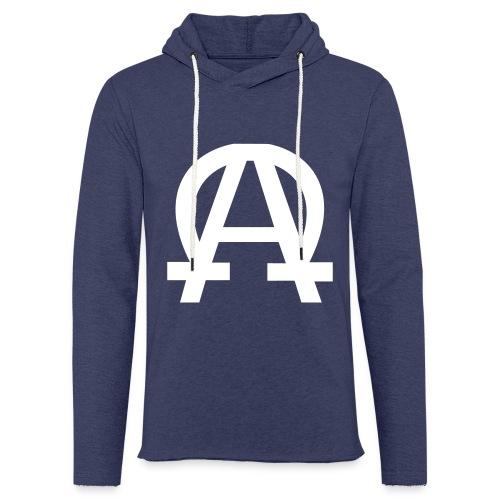 alpha-oméga - Sweat-shirt à capuche léger unisexe