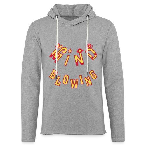 Mind Blowing - Let sweatshirt med hætte, unisex