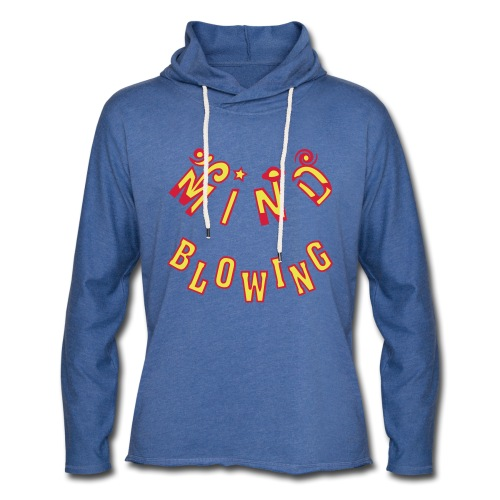 Mind Blowing - Let sweatshirt med hætte, unisex