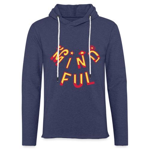 Mindful - Let sweatshirt med hætte, unisex