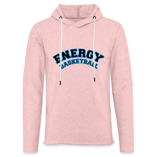 street wear logo nero energy basketball - Felpa con cappuccio leggera unisex