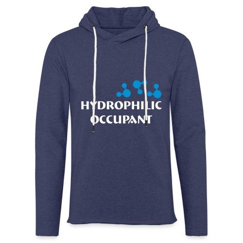 Hydrophilic Occupant (2 colour vector graphic) - Light Unisex Sweatshirt Hoodie