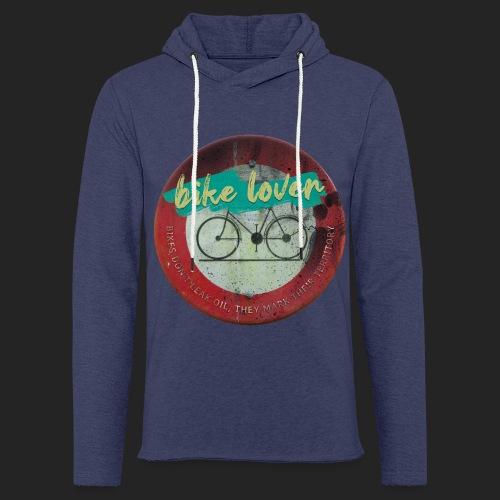 Bike lover - Sweat-shirt à capuche léger unisexe