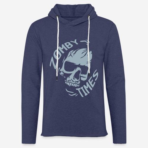 zomby zeiten ära zombie - Leichtes Kapuzensweatshirt Unisex