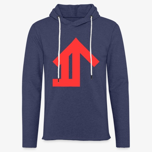 Red Classic Design - Light Unisex Sweatshirt Hoodie