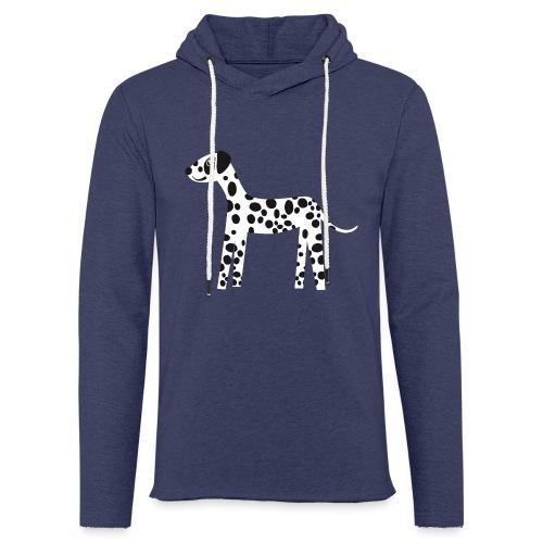 Dalmatiner - Leichtes Kapuzensweatshirt Unisex