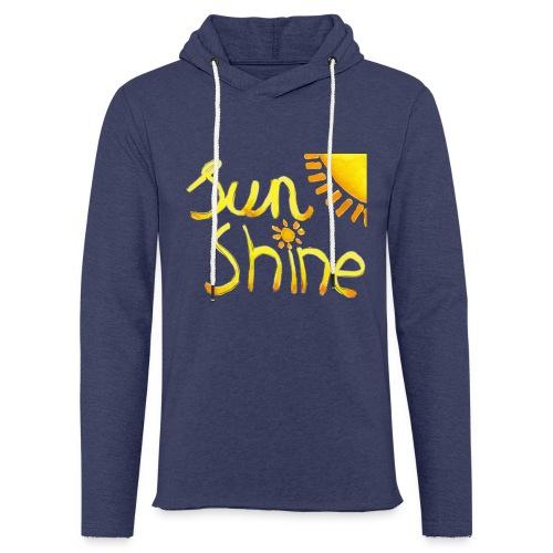 Sunshine - Lichte hoodie unisex