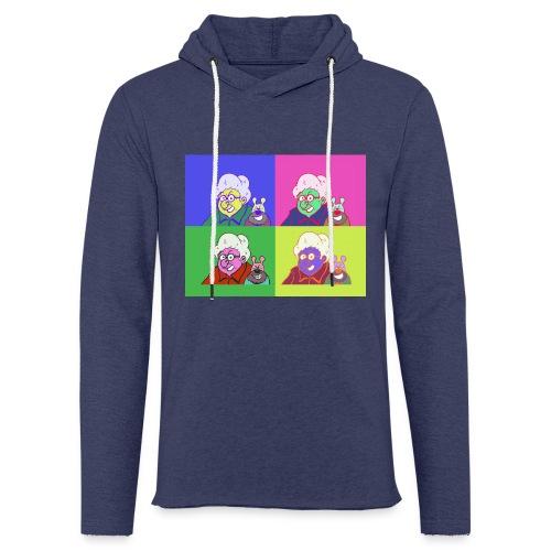 Polete facon warhol - Sweat-shirt à capuche léger unisexe