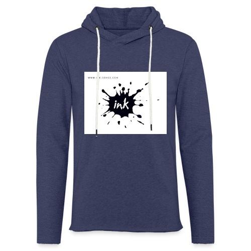 Ink Logo and website - Light Unisex Sweatshirt Hoodie