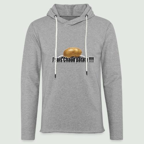chaud patate 2.1 - Sweat-shirt à capuche léger unisexe