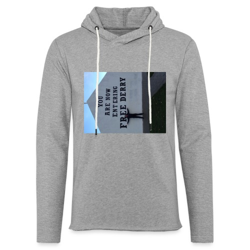 free derry - Light Unisex Sweatshirt Hoodie