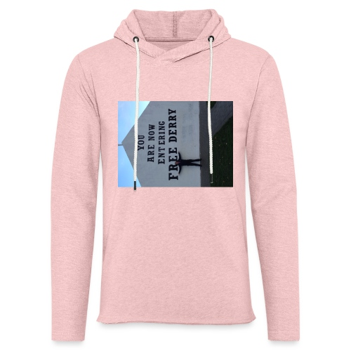 free derry - Light Unisex Sweatshirt Hoodie