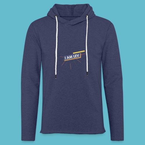 I AM LEV Banner - Lichte hoodie unisex