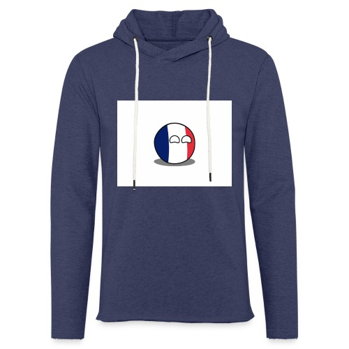 France Simple - Sweat-shirt à capuche léger unisexe